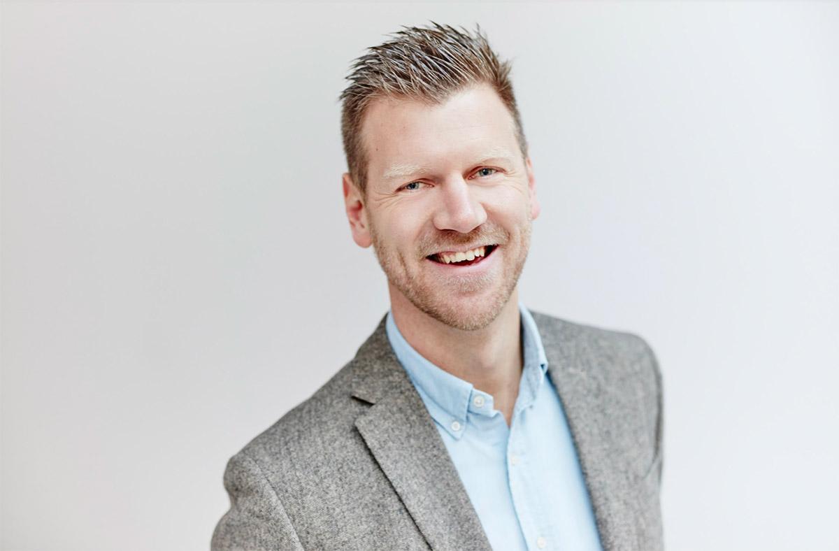 Erik Reuthammar försäljningschef på Allevi.
